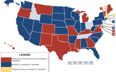 Which States Cover Telehealth?